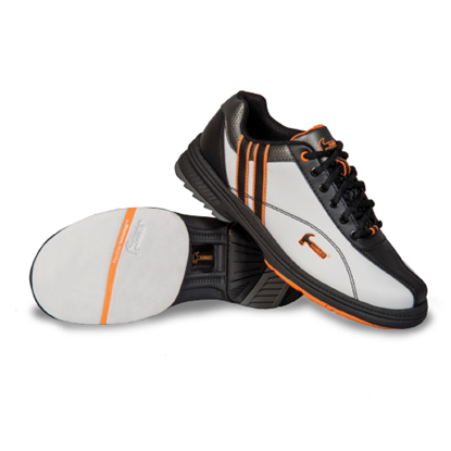 Picture of Women's Hammer Vixen White/Black/Orange Shoe (Right Hand Only)